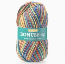 Hayfield Bonus Buzz Double Knit 100g - OUR PRICE £2.75 - Clearance Price £1.99